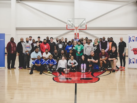 CPS COACHES TAKE PART IN BASKETBALL CLINICS AT ADVOCATE CENTER