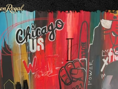Chicago Bulls and Crown Royal Team Up with Local Artists for Black History Month Challenge