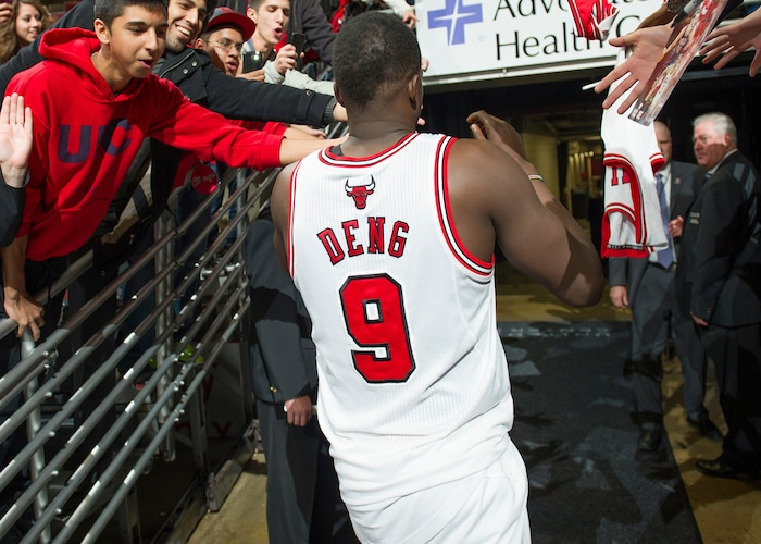 Five of Luol Deng's best games as a Bull