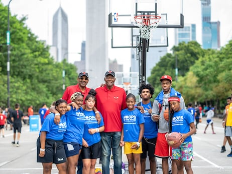 Bulls Support Hoops in the Hood Tournament