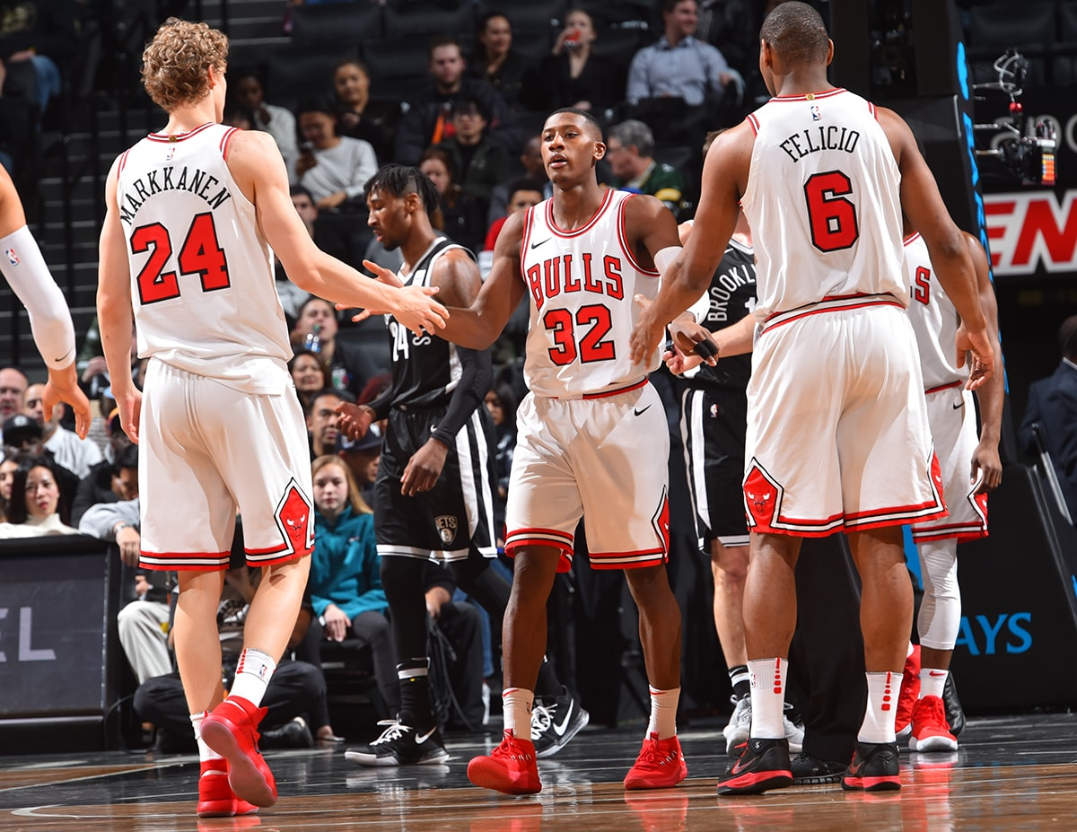 Bulls' Zach LaVine Sitting Out Against Nets
