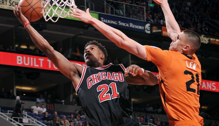 Jimmy Butler vs. Suns