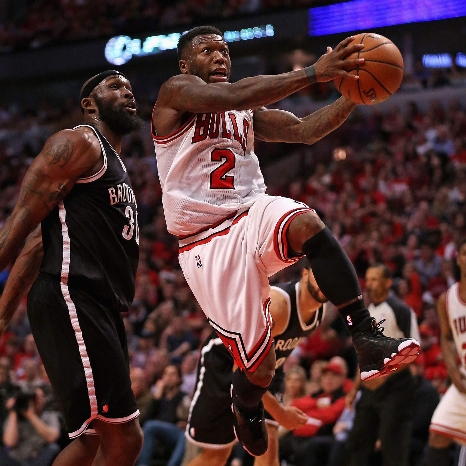 Nate Robinson against the Nets