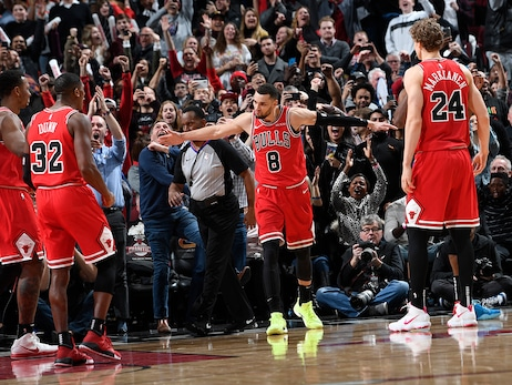 Bulls Beat Clippers 109-106 in Chicago