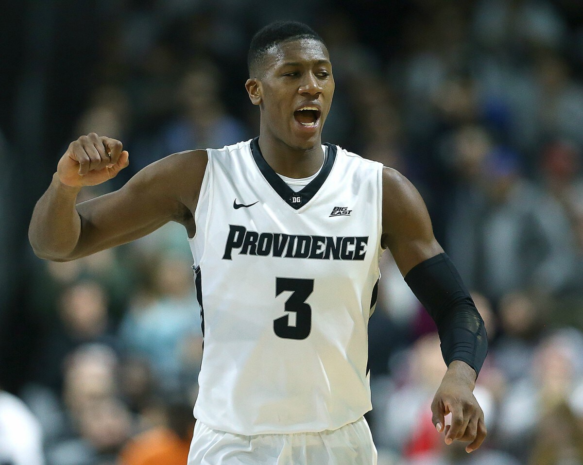 Kris Dunn while playing college ball for Providence.