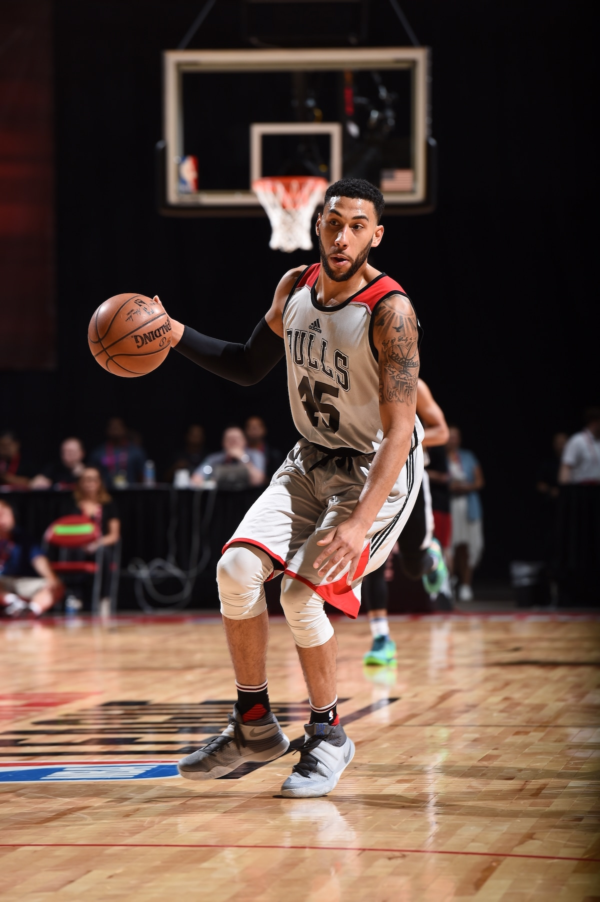 Denzel Valentine at Summer League in Las Vegas
