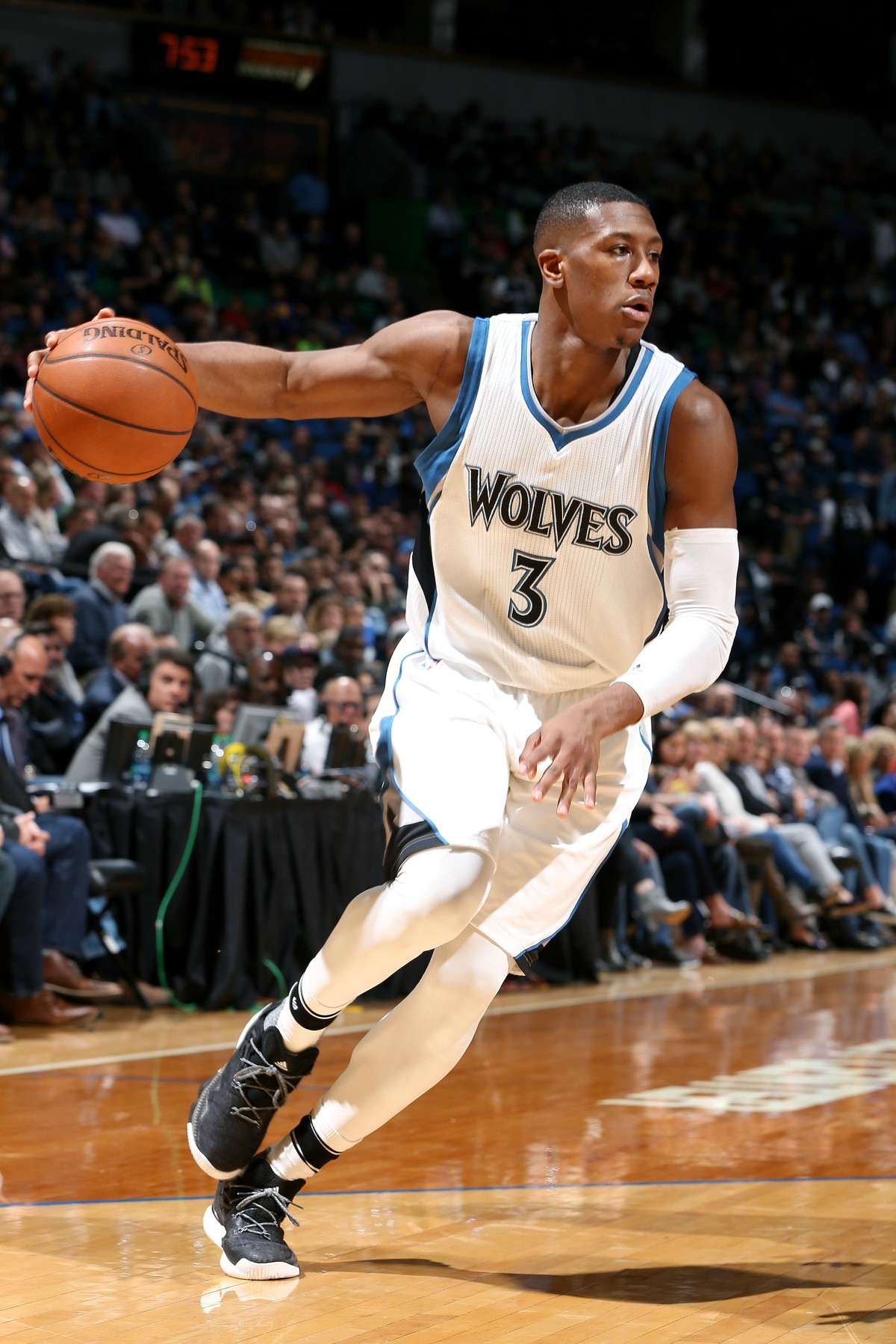 Dunn while with the Minnesota Timberwolves.