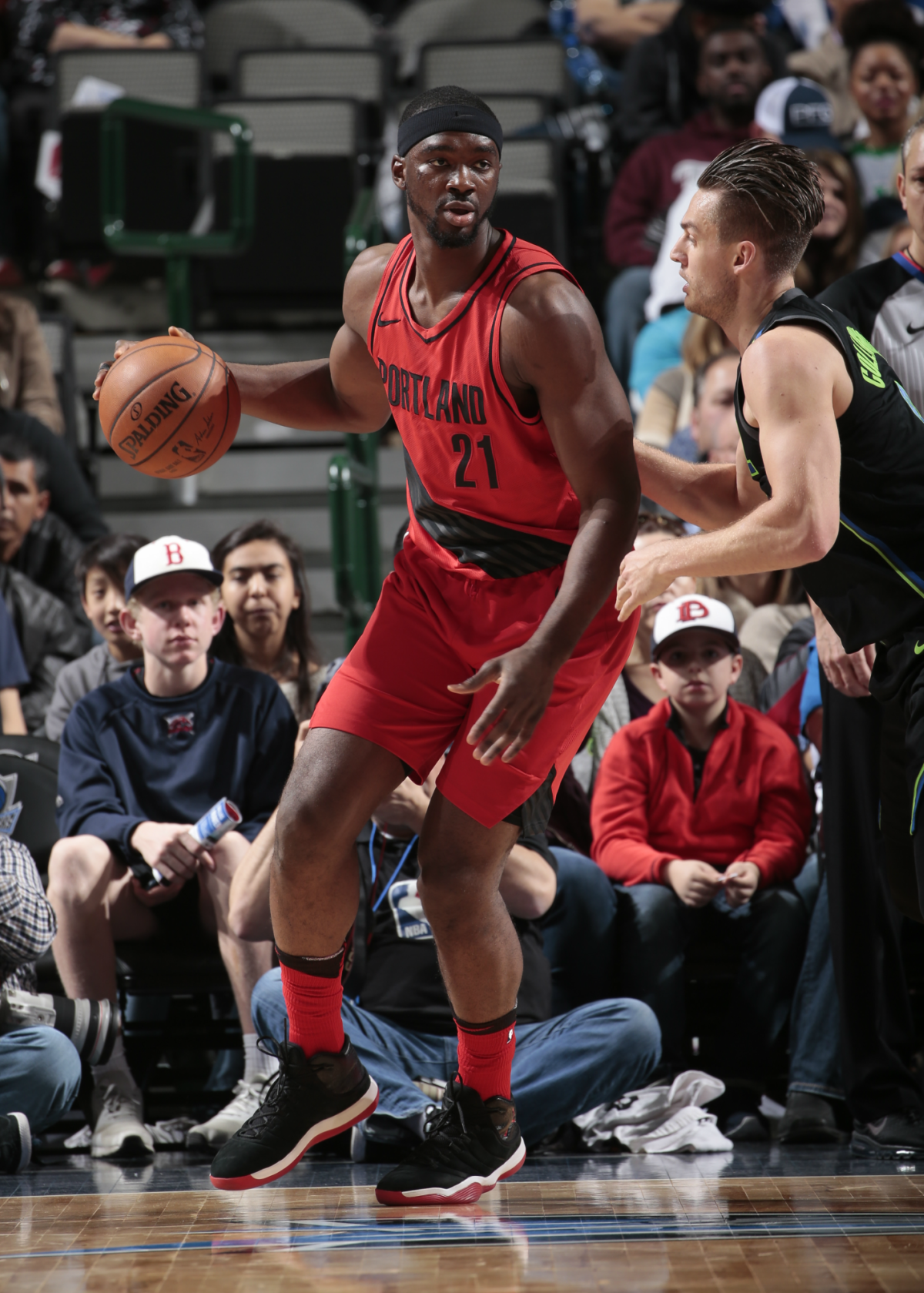 Vonleh while with the Portland Trailblazers.