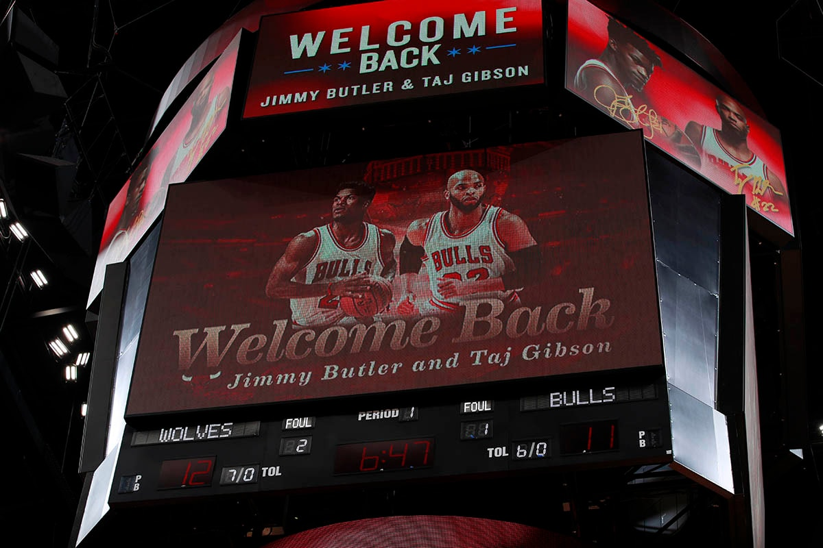 The United Center welcomes back Gibson & Butler