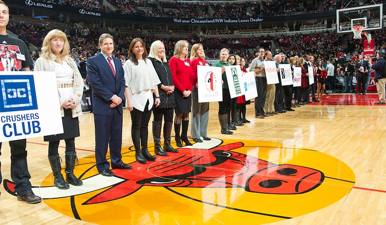 Chicago Bulls Charities grant recipients