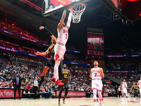 Photo Gallery: Bulls pull out 4OT thriller in Atlanta while setting franchise high scoring record