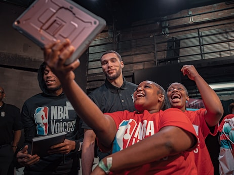 Photo Gallery: Zach LaVine attends NBA Voices Youth Summit