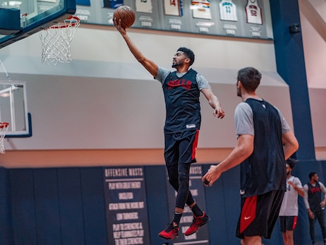 Photo Gallery: Bulls Practice in Washington, D.C.