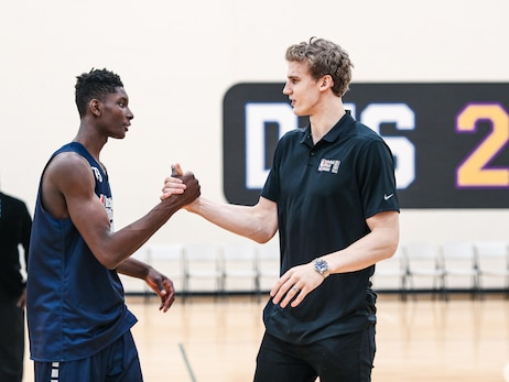 Lauri Markkanen at Basketball Without Borders