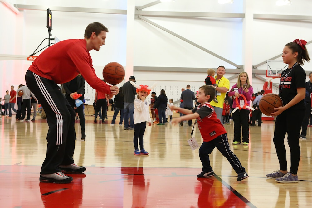 2015 Chicago Bulls Kids Clinic