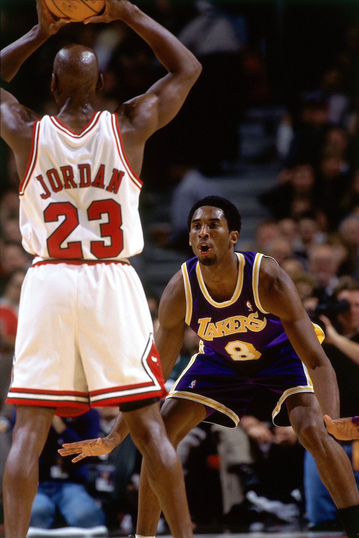 the best attitude 4d6bb 3d963 Kobe at the UC | Chicago Bulls