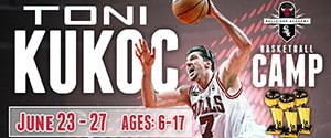 Toni Kukoc basketball camp