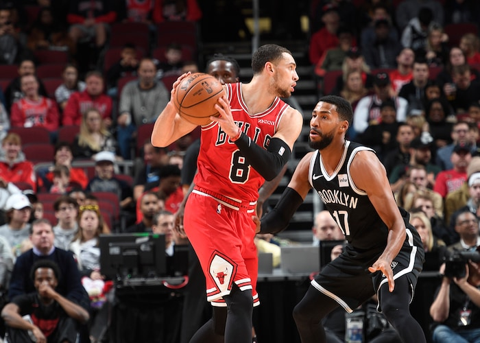 LaVine Scores 36 But Bulls Fall To Nets in Chicago