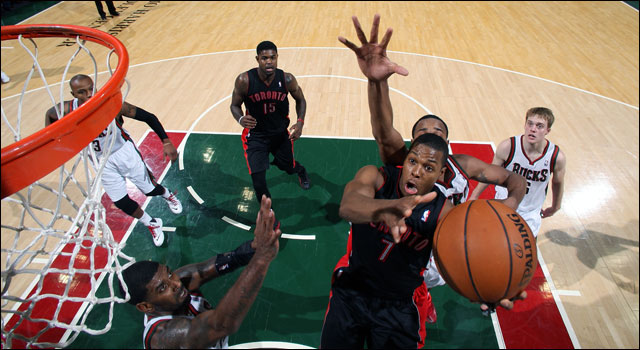 """Toronto's Kyle Lowry is having one of the great contract ru"