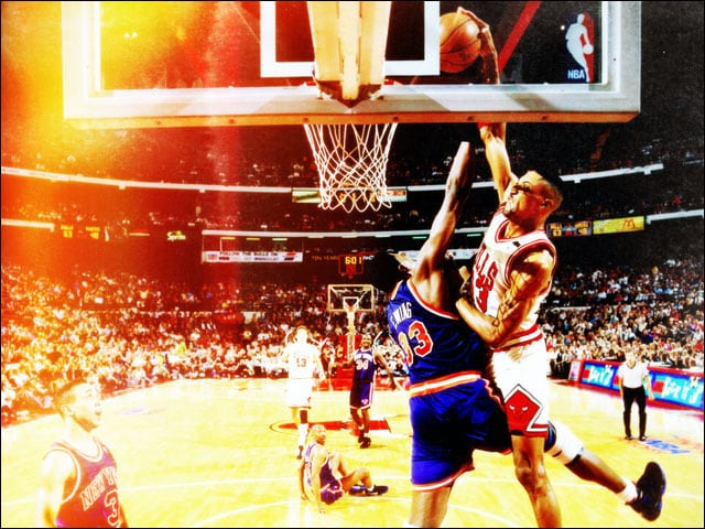 Pippen Stood Tall Without Jordan In 1993 94 Chicago Bulls