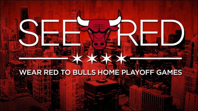 """Bulls launch 2014 """"See Red"""" playoff campaign 