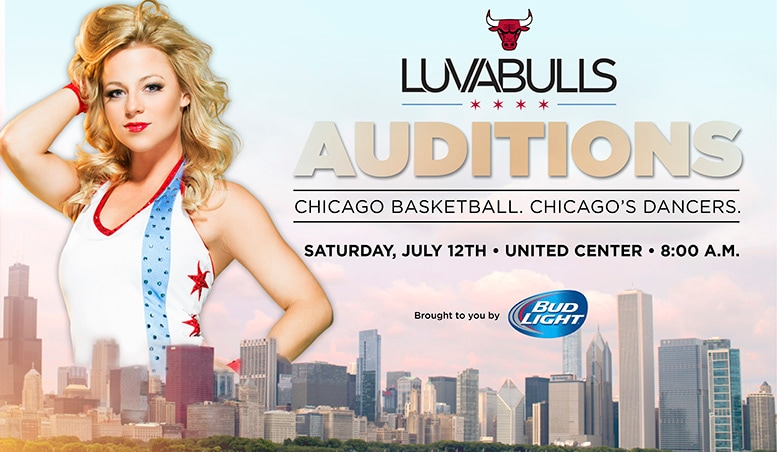 Luvabulls auditions banner graphic