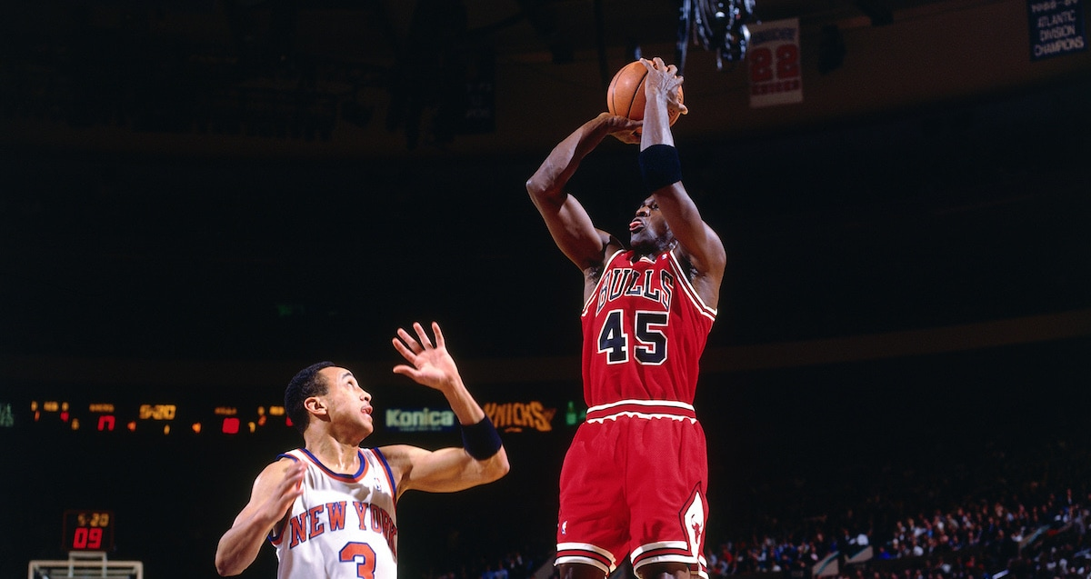 MJ and Fifty Five: Points Scored and