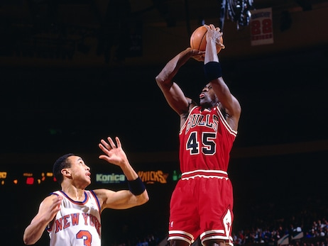 MJ and Fifty Five: Points Scored and Time Alive