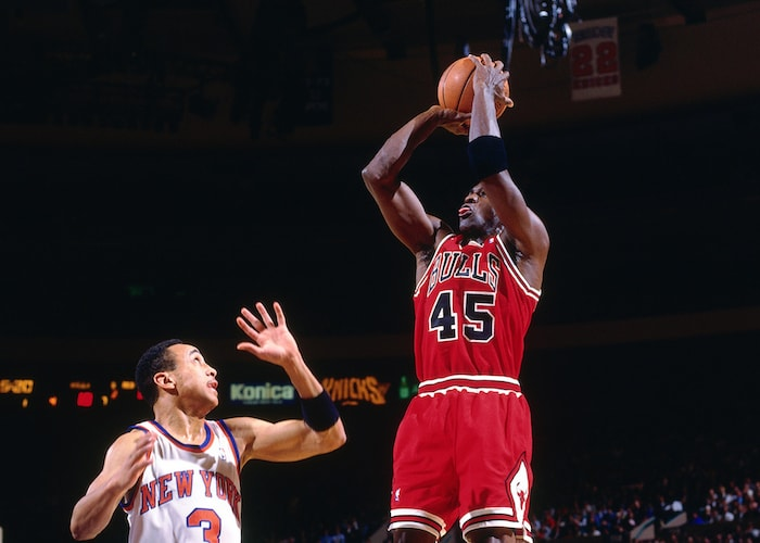 new arrival a3bdd b69c1 MJ and Fifty Five: Points Scored and Time Alive | Chicago Bulls