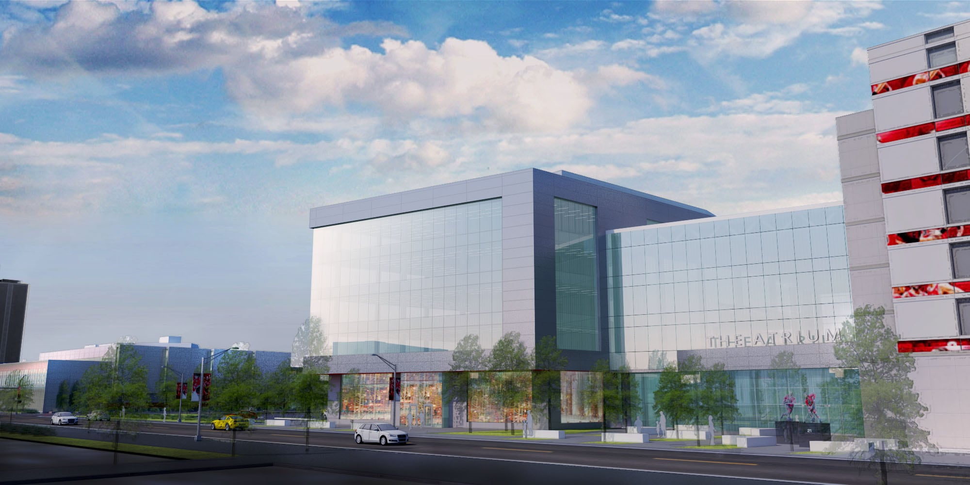 New office building renderings