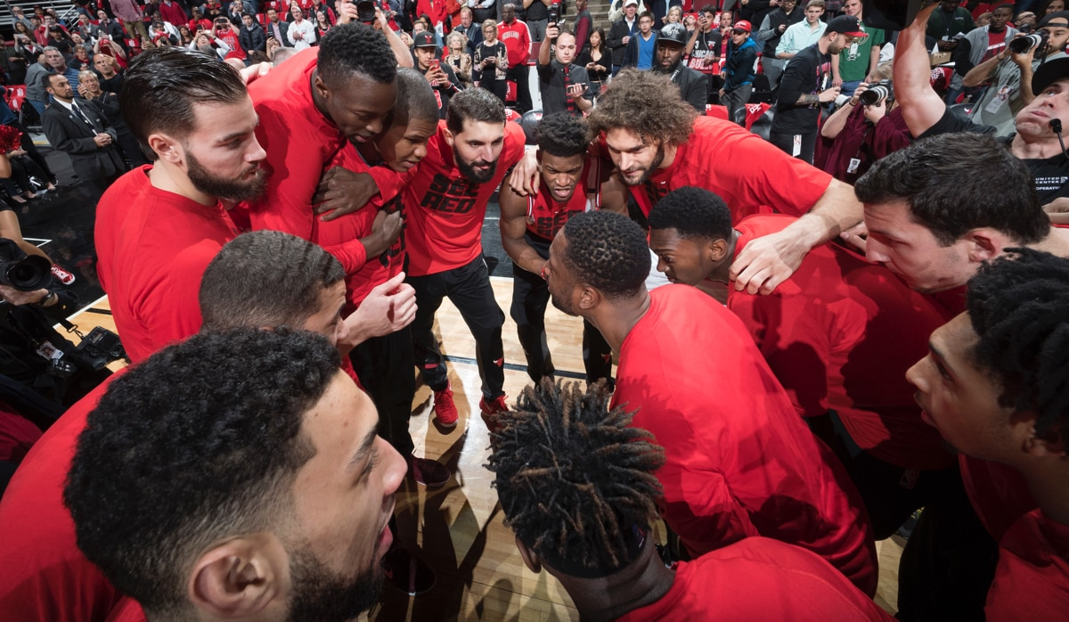 What can the Bulls change up in Game 4