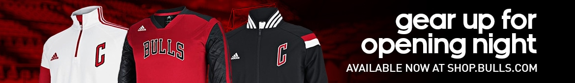 gear up for opening night at Shop.Bulls.com