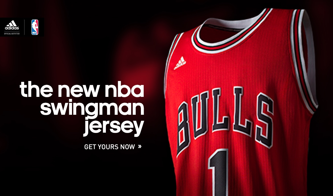 the new NBA swingman jersey at Shop.Bulls.com