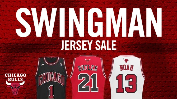 Shop the Swingman jersey sale happening now at shop.bulls.com