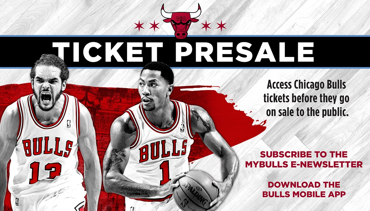 Chicago Bulls ticket presale
