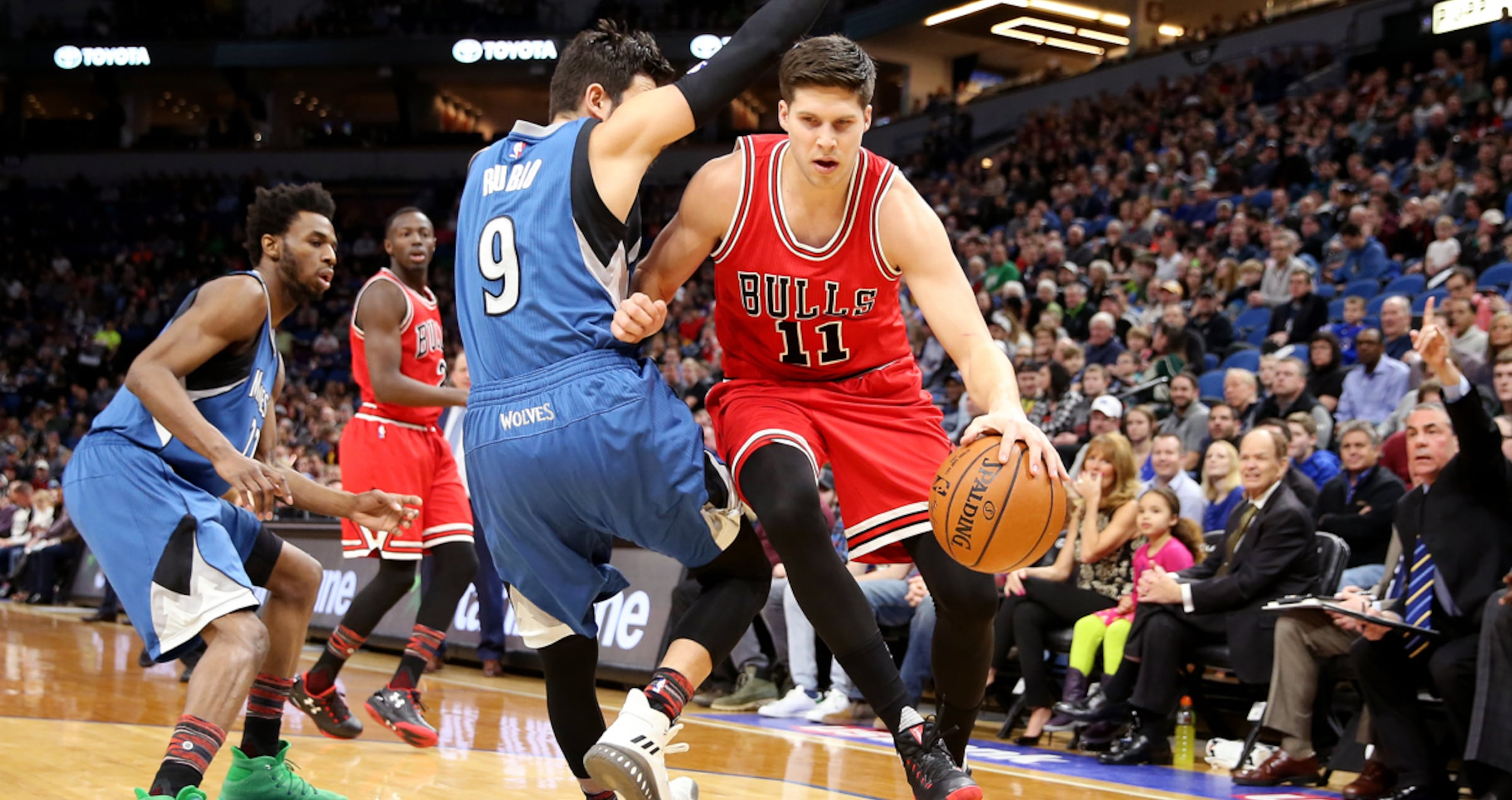 Doug McDermott vs. Timberwolves