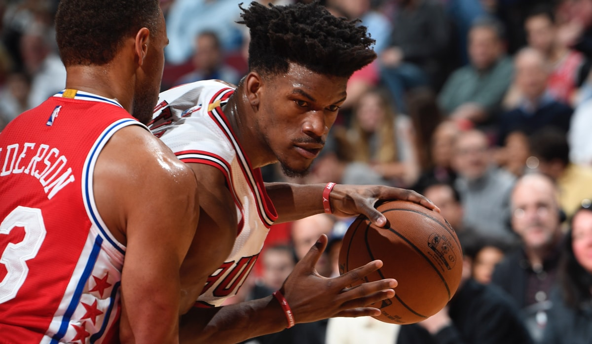 Bulls get shut down by the Sixers 117-107