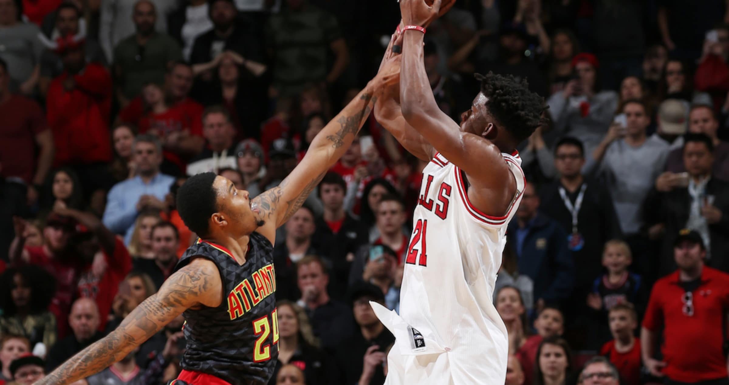 Jimmy Butler vs. Atlanta