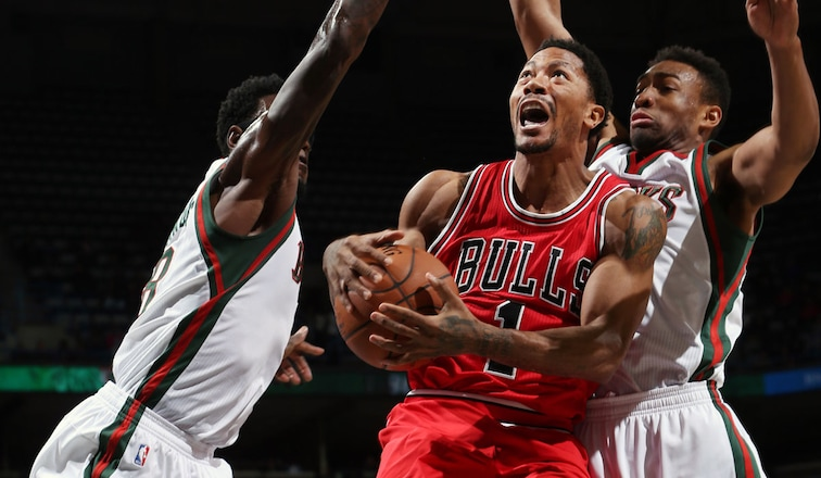 Bulls win after outshooting the Bucks