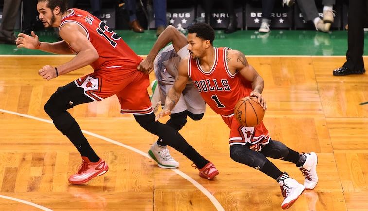Derrick Rose vs. Celtics
