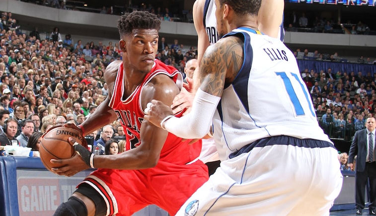 Jimmy Butler vs. Dallas
