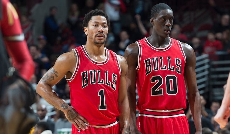Derrick Rose and Tony Snell vs. Cavaliers