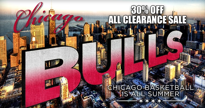 Shop.Bulls.com Summer sale