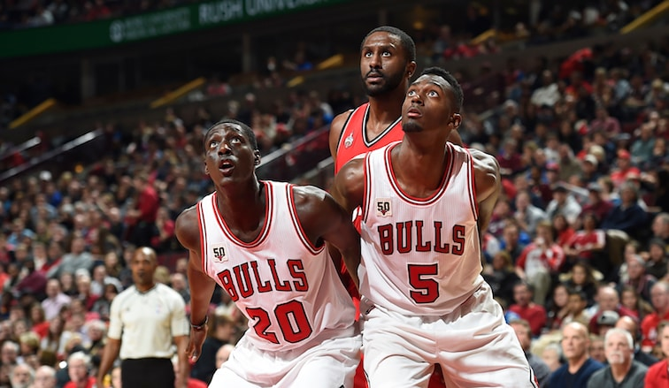 Bobby Portis and Tony Snell