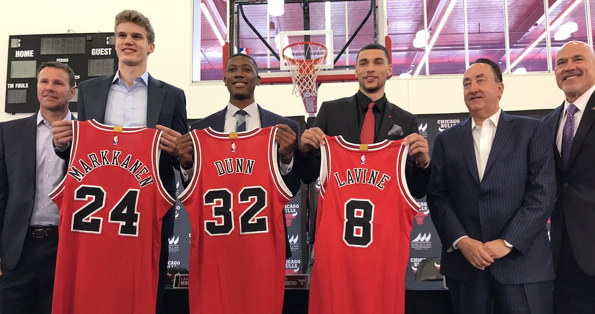 Day One For Three Bulls: Press Conference Recap