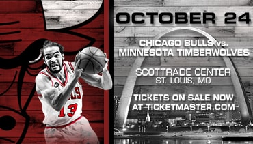 Bulls vs. Timberwolves in St. Louis