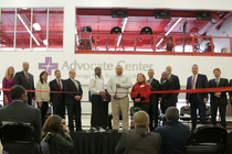 Advocate Center ribbon cutting