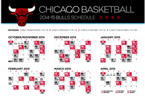 Bulls announce 2014-15 television schedule