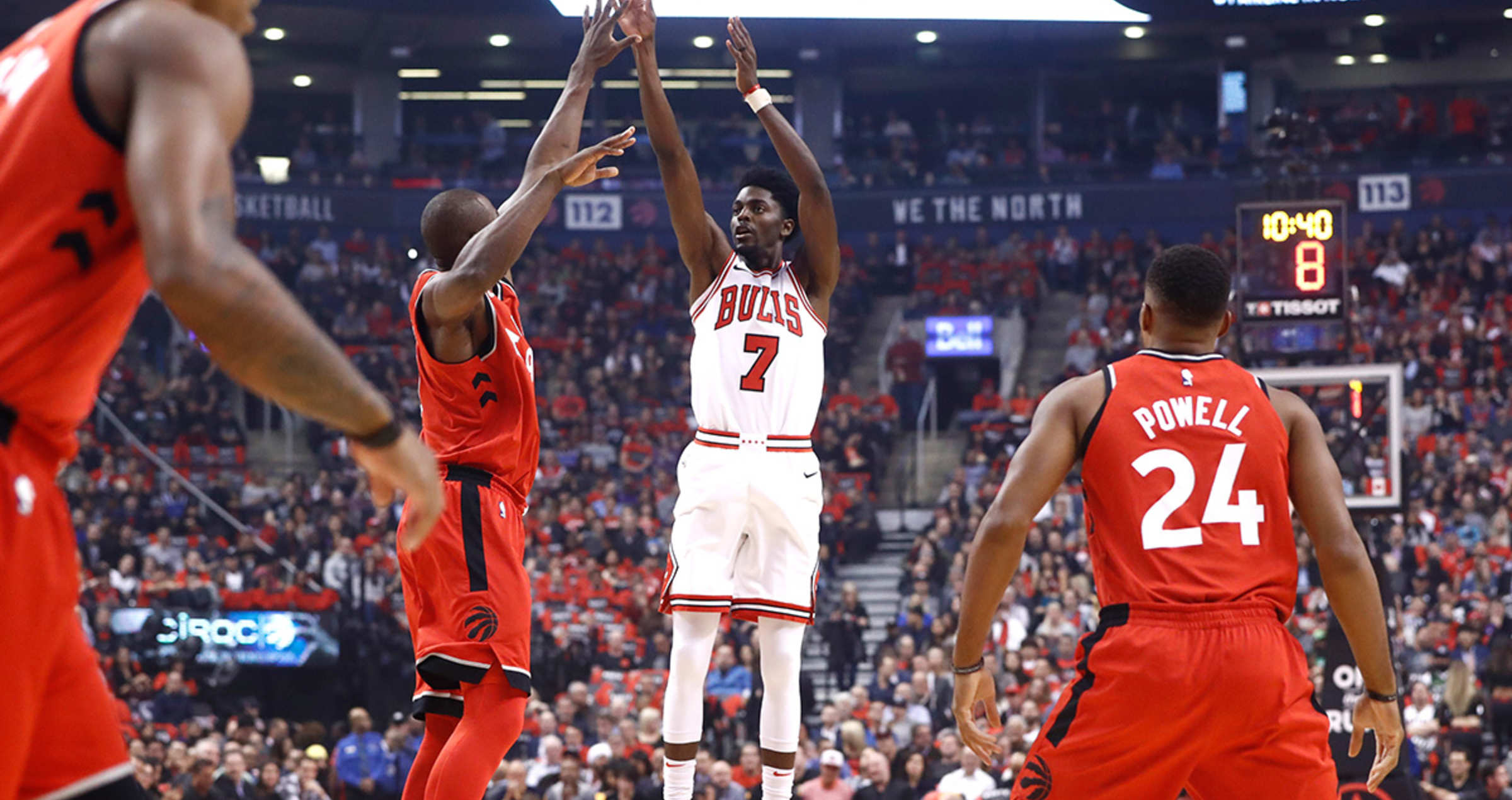 Justin Holiday vs. Toronto Raptors
