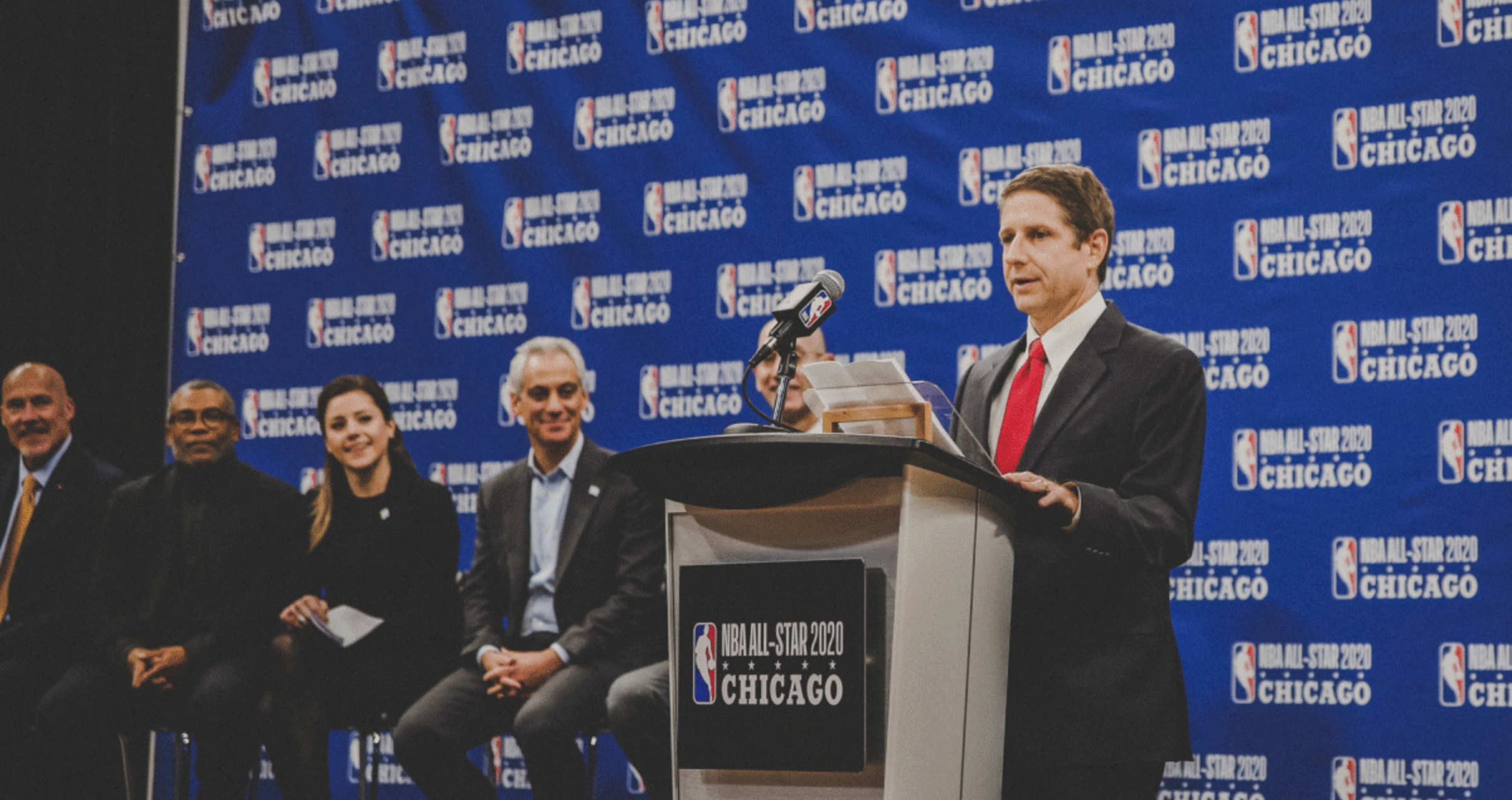 MIchael Reinsdorf announces 2020 NBA All-Star Game coming to Chicago